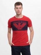 Футболка Armani Jeans 9030.2 S (44) Червона - зображення 1