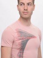Футболка Calvin Klein Jeans 7617.3 S (44) Розовая - изображение 4