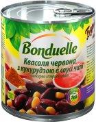 Квасоля Bonduelle Червона з кукурудзою в соусі чилі 430 г (3083680495882) - зображення 1
