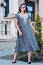 Платье ALDEM 1925 52 Серое (2000000423081_ELF) - изображение 2
