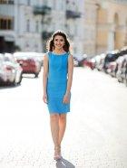 Платье Le Bourdon 031FM/KR-76 48UA Голубое (NB2000001103135) - изображение 1