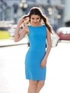 Платье Le Bourdon 031FM/KR-76 48UA Голубое (NB2000001103135) - изображение 2
