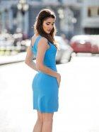 Платье Le Bourdon 031FM/KR-76 48UA Голубое (NB2000001103135) - изображение 3