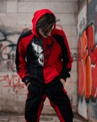 Спортивный костюм DNK MAFIA BenimaruR XL чёрно-красный BeR04 - изображение 5