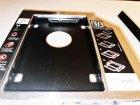 """Карман-переходник 9.5 мм для установки второго жесткого диска 2.5"""" SSD/HDD SATA 3.0 в отсек DVD (optibay caddy) - изображение 5"""