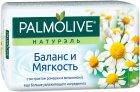 Мыло Palmolive Натурэль туалетное Баланс и мягкость с экстрактом ромашки и витамином Е 90 г (8693495032742) - изображение 1