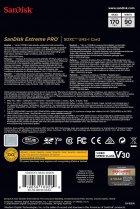 SanDisk SDXC Extreme Pro 64GB V30 UHS-I U3 (SDSDXXY-064G-GN4IN) - изображение 4