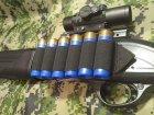 СайдСеддл (SideSaddle) BML – патронташ на ствольну коробку для дробовика 12 калібру з м'яких матеріалів (тканина) - на 4,5,6,7 або 8 патронів (на вибір клієнта) (77771) - зображення 8