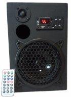 Портативна бездротова Bluetooth колонка M-lab з пультом Чорна - зображення 1