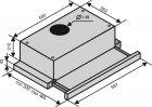 Витяжка VENTOLUX GARDA 60 WH (1000) LED - зображення 7