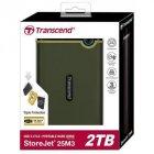 """Зовнішній жорсткий диск 2.5"""" 2TB Transcend (TS2TSJ25M3G) - зображення 5"""