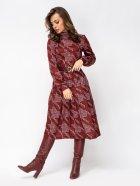 Платье Dressa 52931 44 Бордовое (2000405710953) - изображение 4