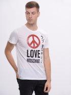 Футболка Love Moschino 8184.2 L (48) Белая - изображение 1