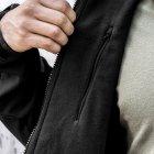 Куртка SoftShell DIVISION BLACK. Армолайн. S - изображение 5