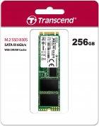 Transcend SSD MTS830S 256GB M.2 SATA SATA III 3D-NAND TLC (TS256GMTS830S) - изображение 2