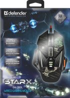 Мышь Defender sTarx GM-390L Black (52390) - изображение 5