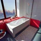 Ванна акрилова прямокутна KOLLER POOL Delfi 180х80 - зображення 2
