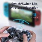 Беспроводной геймпад Baseus Motion Sensing Vibrating SW Gamepad Прозрачный - изображение 12