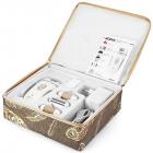 Эпилятор Rozia Белый женский с 4 насадками + подарочная упаковка HB-6007 - изображение 1