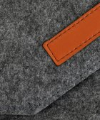 """Чехол для ноутбука Traum 15"""" с дополнительным чехлом для БП Dark Grey (7112-46) - изображение 4"""