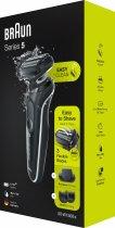 Електробритва-тример BRAUN Series 5 50-W1500s BLACK/WHITE - зображення 6