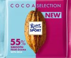Шоколад Ritter Sport молочный с увеличенным содержанием какао 55% 100 г (4000417931009) - изображение 1