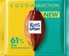 Шоколад Ritter Sport изысканный темный 61% какао 100 г (4000417932006) - изображение 1