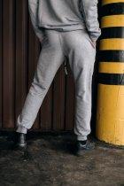 """Штаны Мужские Intruder 'Stroper"""" Oversize осеннее весеннее летнее спортивные брюки серые XXL-XXXL - изображение 3"""