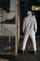 """Штаны Мужские Intruder 'Stroper"""" Oversize осеннее весеннее летнее спортивные брюки серые XXL-XXXL - изображение 9"""