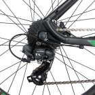 Электровелосипед TRINX E-Bike X1E 17 Matt-Black-Green-Blue (X1EMBGB) - изображение 9