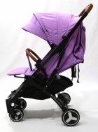 Детская прогулочная коляска YOYA PLUS 3 Фиолетовый (рама белая) - изображение 2