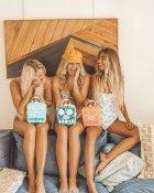 Пляжна колонка Sunny Life з радіо, BlueTooth, FM, MP3 Бананові листя (9339296046708) - зображення 2
