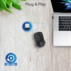 Мышь Promate Clix-8 Wireless Black (clix-8.black) - изображение 5