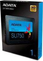 "ADATA Ultimate SU750 1TB 2.5"" SATA III 3D NAND TLC (ASU750SS-1TT-C) - зображення 6"