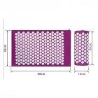 Набір килимок акупунктурний масажний + подушка - зображення 5