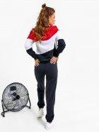Спортивный костюм ISSA PLUS SA-33 S Черный с красным (issa2000471148674) - изображение 3