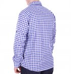 Рубашка батал Rigans турция b0118/1 синяя XXL - изображение 2