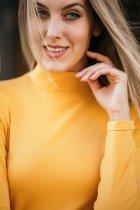 Гольф Wear me женский из кулира XL Горчичный 2w/44/57 - изображение 3