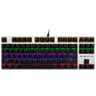 Механічна ігрова клавіатура з підсвічуванням Metoo Zero X51, світчі червоні - зображення 2