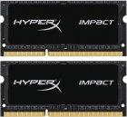Оперативна пам'ять HyperX SODIMM DDR3L-2133 16384MB PC3L-17000 (Kit of 2x8192) Impact (HX321LS11IB2K2/16) - зображення 1