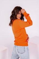 Свитшот ISSA PLUS 12213 S Оранжевый (issa2000500579349) - изображение 2