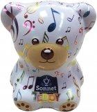 Чайный набор-копилка Sonnet Teddy Музыкальный 25 экспресс-пакетиков (4820082708382) - изображение 1