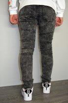 Мужские джинсы hype drive темно-серый размер 33 J-021 - изображение 6