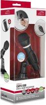Мікрофон SPEEDLINK Capo USB Desk and Hand Microphone Black (SL-800002-BK) - зображення 4