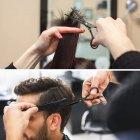 Набір Професійних Перукарських Ножиць Lantoo + Аксесуари для Стрижки Волосся: Гребінці, Затискачі, Накиду, Щітка, Органайзер (LFJ-133) - зображення 4