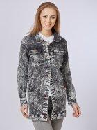 Джинсовая куртка Mila Nova Q-31 50 Черная (2000000012698) - изображение 2