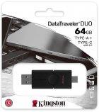 Kingston DataTraveler Duo 64GB USB 3.2 + Type-C (DTDE/64GB) - зображення 6