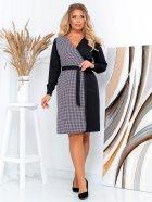 Платье New Fashion 105 54 Черно-белое (2000000489407) - изображение 4