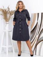 Платье New Fashion 152 54-56 Синее (2000000488981) - изображение 2