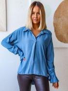 Блуза DNKA с41497/1 50-52 Джинсова (2000000515151) - зображення 2